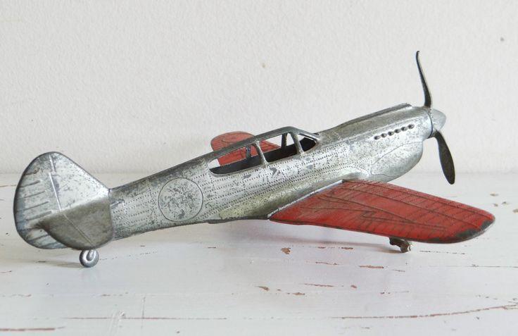 vintage toy airplanes