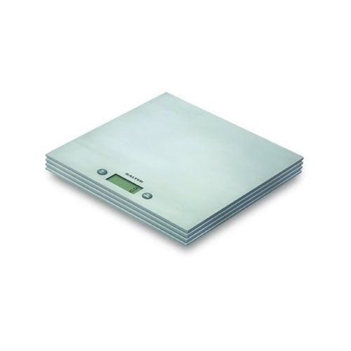 Salter Stainless Steel Electric Kitchen Scales by Salter. $38.40. Modern and lovely to look at, practical and easy to use. A lovely addition to any kitchen. -Add & Weigh function - Allows for measurement of multiple ingredients in the same bowl - saves on washing up -Weigh ingredients directly onto the scale or use your own bowl -Easy to read LCD display - Compact slim design for easy storage -Contemporary design -Capacity: 5kg / 11lb -Lithium CR2032 battery (includ...