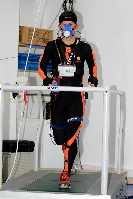 Biomechanics and bioenergetics tests with COSMED K4b2 at Laboratório de Biomecânica da Universidade do Porto, LABIOMEP (Portugal) by cosmednews, via Flickr
