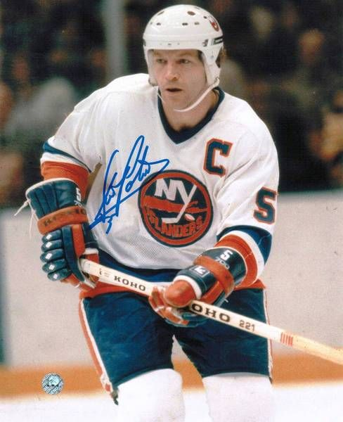 Denis Potvin New York Islanders Autographed 8x10 Photo -Skating-