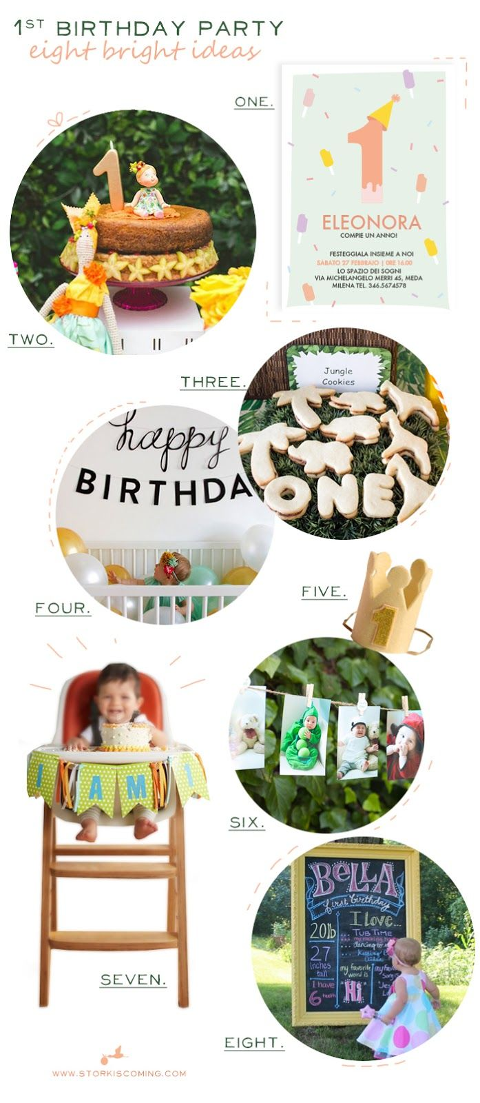 the Stork is Coming: First birthday party: 8 bright idea to try out