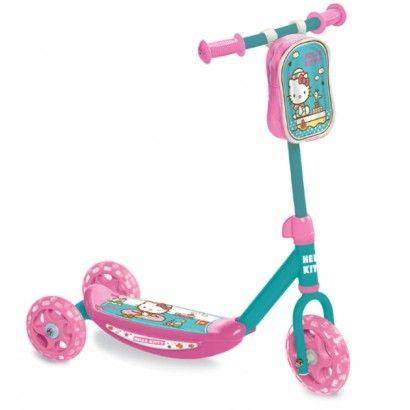 koloběžka - tříkolka Hello Kitty