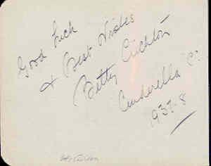 Unbekannte Autogramme - unknown autographs