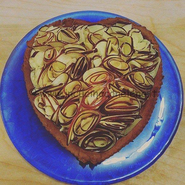 Rose Apple Heart