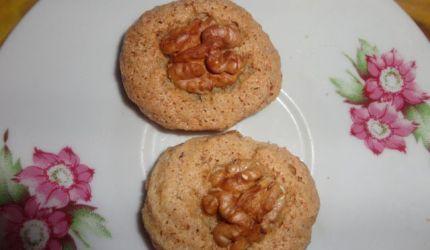Orechové koláčiky bez múky