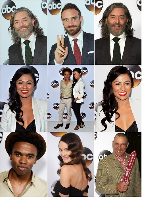 Site Update: Galavant Cast - Winter TCA Party HQ Tagless Photos x96 (x ..