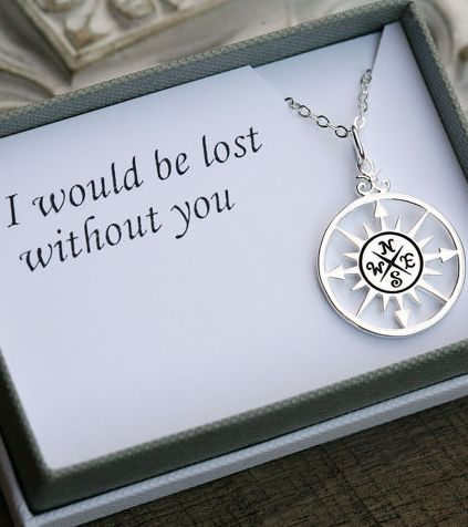 """""""I would be lost without you"""" this would be such a cute gift if i didnt have to tell lol"""