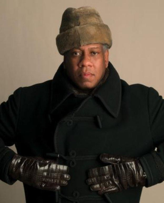 André Leon Talley, editor. He is currently Contributing editor at Vogue magazine and Editor-at-large at Numéro Russia magazine. He was also the former Editor-at-large at Vogue , and a judge of America's Next Top Model. A front-row regular at fashion shows in New York, Paris, London & Milan for over 25 years, he uses his influence to promote young fashion designers, and mentors young talent. He is ranked #45 in Out magazine's 50 Most Powerful Gay Men & Women in America.