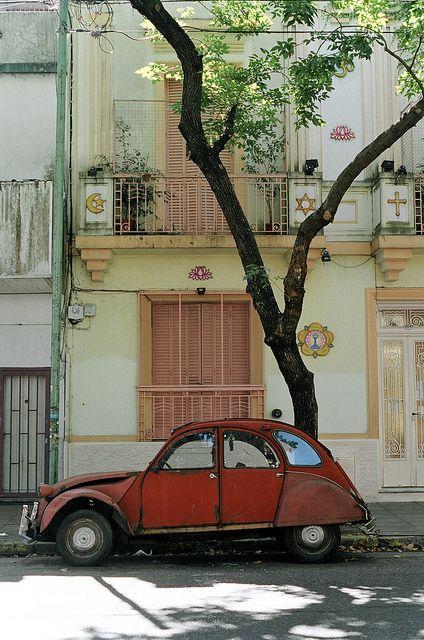 Buenos Aires  de hace algunos años ... se acuerdan del Citroen ???