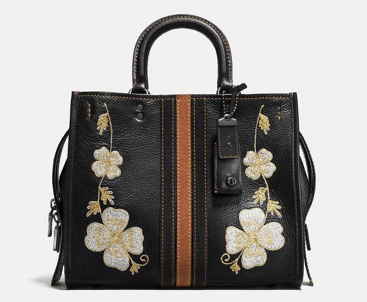 Coach 1941 Western Embroidery Rogue Bag