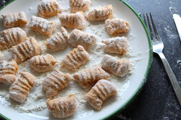 Zelf maken: zoete aardappel gnocchi