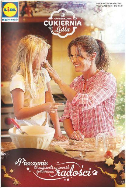 Może święta Bożego Narodzenia w listopadzie to lekka przesada, ale... nie stęskniliście się za tym klimatem? :) Lidl zaprasza do gwiazdkowej cukierni, gdzie możecie przypomnieć sobie cynamonowy aromat w towarzystwie najbliższych. http://www.promocyjni.pl/gazetki/11777-gwiazdkowa-cukiernia-gazetka-promocyjna