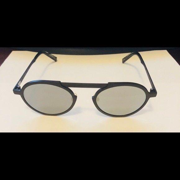 23f5f6f5b32 New John Varvatos V517 Round Sunglasses