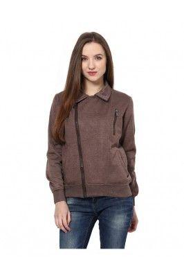 Brown Sweatshirt for Women
