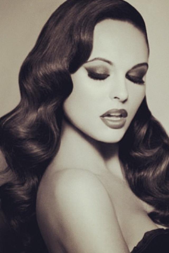 Reception Hair Hollywood Glam