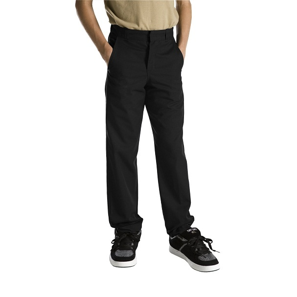 #clothing #zarclothing #dickies #schooluniforms #workuniforms #levis #promdresses http://ZarClothing.com: Dickies 56562 Black - Boys' Plain Front Pants (Sizes 8-20)>>>>>>