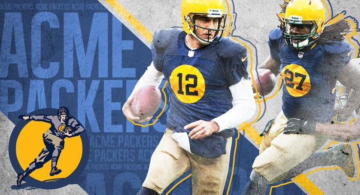 Today's jerseys are modeled after the #Packers uniforms from 1929, the year of the team's first world championship.