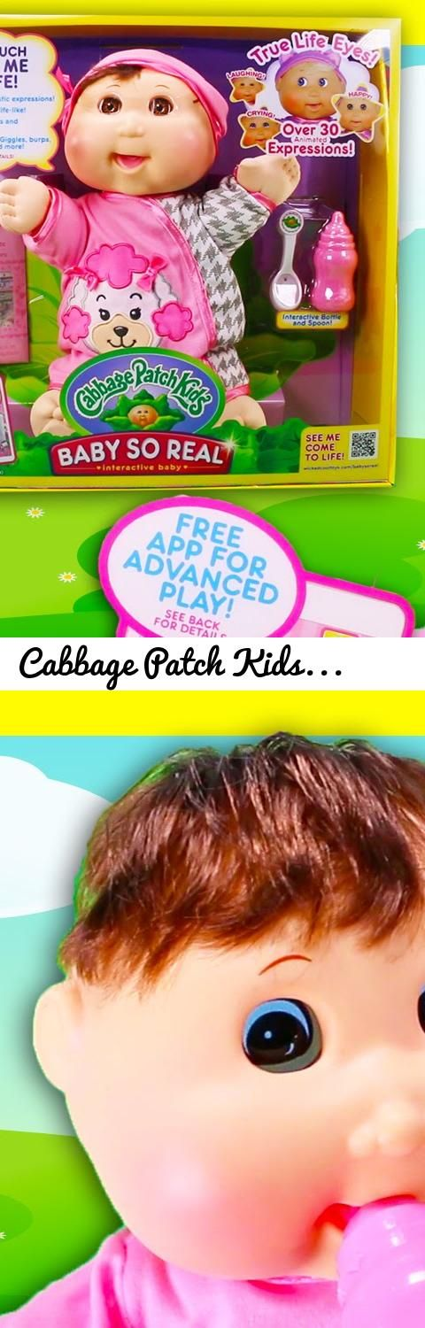 Cabbage Patch Kids Baby So Real Interactive Doll Toy Review... Tags: cabbage patch kids, baby so real, cpk baby so real, robots, stem, interactive toys, interactive dolls, 2016 toys, new toys, new toys 2016, toys, toy videos, dolls, dolls