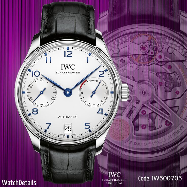 Read about watches http://goo.gl/QbdpJw Watches Graceful Portugieser Automatic IW500705 #fashion #style #watches