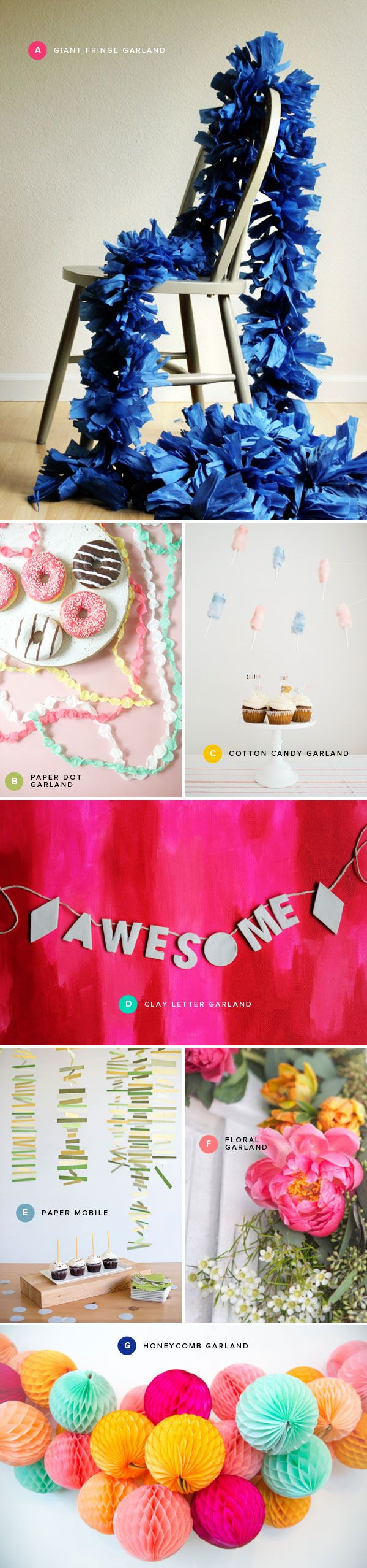 Festive Garland Ideas | Oh Happy Day!