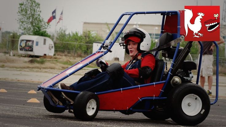 Rooster Teeth Tests Whether Scenarios From the Video Game 'Mario Kart' Match Up With Real Life