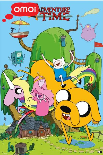 Adventure Time maxi poster (House - 61cm x 91.5cm) - 5,00 EUR : Manga Shop for Europe, A great selection of anime products