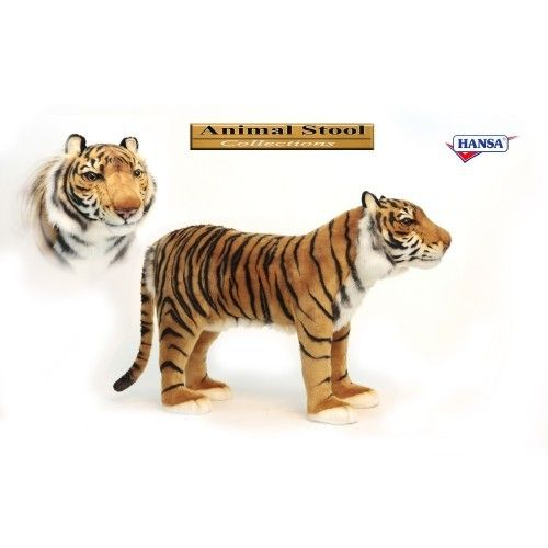 Hansa Toys Stuffed Tiger Seat