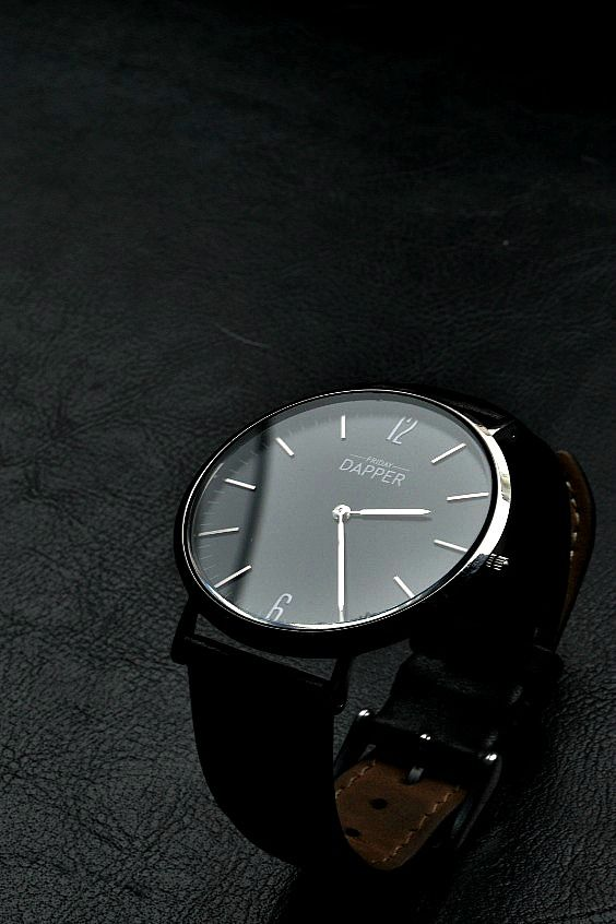 Classic Dapper Swiss Watch. Enter code FRIDAY for 10% off your first sale. Free Shipping and 2 year warranty .
