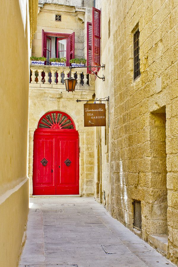 Tea Garden @ Mdina, Malta