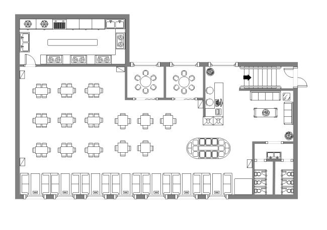 Canteen Design Layout フロアプラン Pinterest Design layouts - evacuation plan template