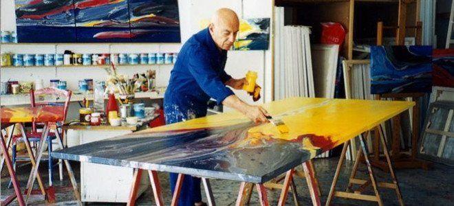 Εφυγε από τη ζωή ο σπουδαίος, ιδιοφυής, ανατρεπτικός ζωγράφος Κώστας Πανιάρας -Ηταν από τους τελευταίους μεγάλους...Costas Paniaras, painter.