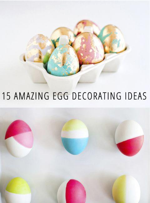 15 awesome egg decorating ideas