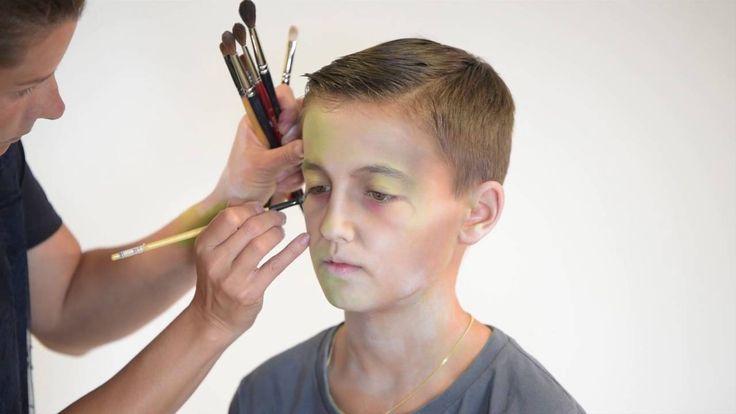 Tutorial di Halloween trucco Zombie per bambino