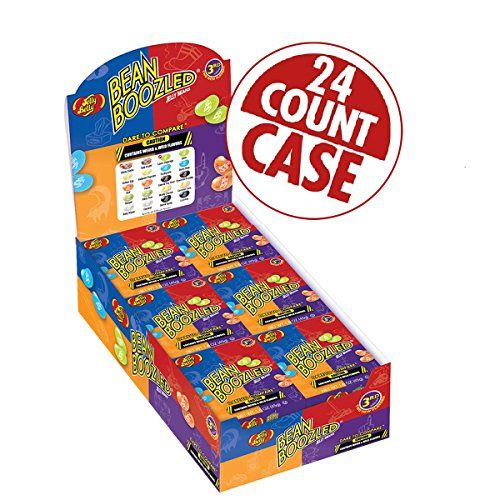 Jelly Belly - BeanBoozled Jelly Beans - 1.6 oz boxes - 24 Count Case - 3rd Edition - http://bestchocolateshop.com/jelly-belly-beanboozled-jelly-beans-1-6-oz-boxes-24-count-case-3rd-edition/