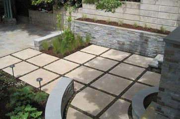 Back Yard Concrete Patio Ideas | Square Concrete Tile ... on Square Concrete Patio Ideas  id=14819