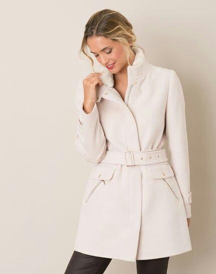 Manteau Phibie en laine mélangée (cachemire laine polyamide) 1 2 3, 299€