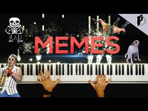 Meme Songs On Piano Youtube Piano Youtube Songs Memes