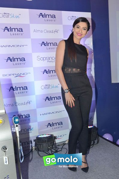 Gauhar Khan at the Launch of Alma Lasers' 'Soprano Ice' product in Mumbai