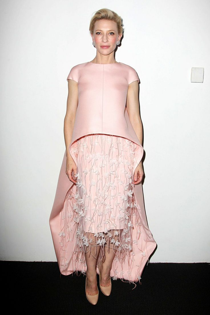 Best dressed of 2013 - Cate Blanchett. Makes the most complicated to wear gowns look easy. Amazing confidence and grace.