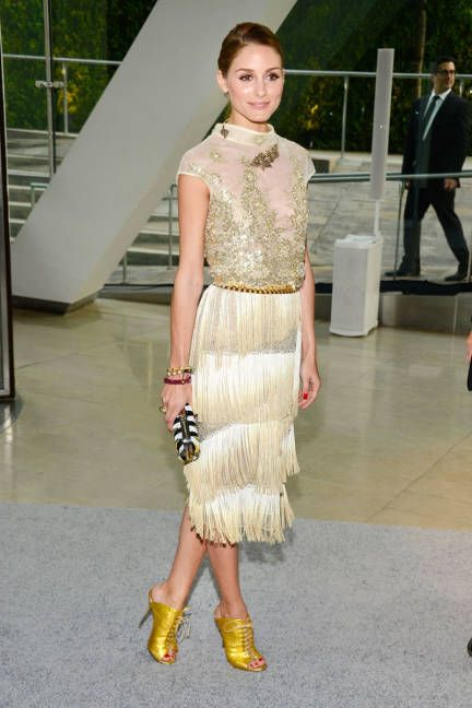 Olivia Palermo 2013 CFDA Awards red carpet