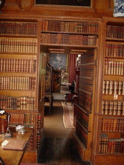 Hidden Office behind a Secret Door in the Library.