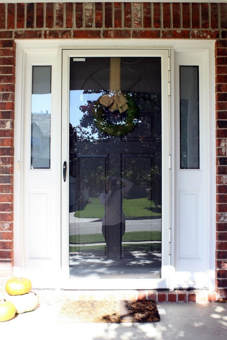 Cleaning Storm Door : Best exterior door images on pinterest