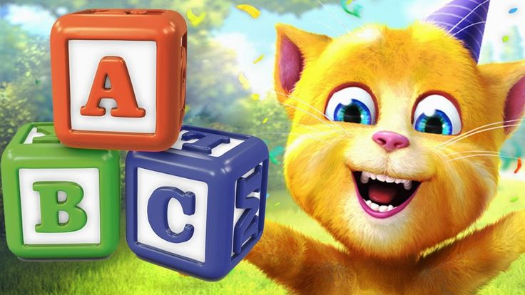 Learn ABC with My Talking Ginger - Alphabet letters education for kids