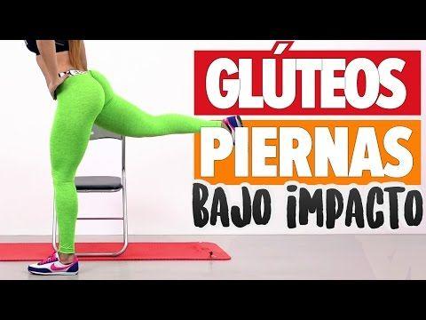 GLÚTEOS DUROS Y PIERNAS BONITAS 10min rutina bajo impacto | Slim Legs & Toned Butt - YouTube