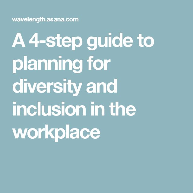 how to support diversity and inclusion in the workplace