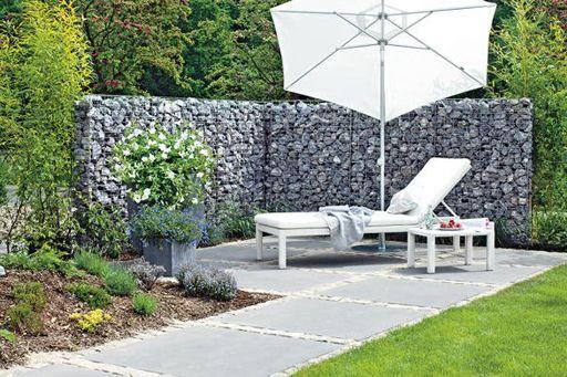 die besten 25 gabionenwand ideen auf pinterest gabione st tzmauer gabionenwandgestaltung und. Black Bedroom Furniture Sets. Home Design Ideas