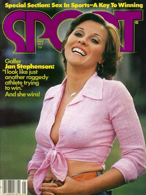 """Jan Stephenson---The Original LPGA """"Pinup""""--Stephenson Entered the Annals Of Golf History As The First """"Girly-Girl"""" On the Circuit To Become A Major Competitor...Suddenly, Men Were Watching the Ladies On the Greens, Looking For This Lovely Lady...Jan Also Inspired Refined Young Women To Take Up Golf, Leading To Two Following Generation of Top-Notch Women Golfers...Inspiring Player, """"Sex Symbol"""", and Poineer In the Game...A Home Run, Jan!!"""