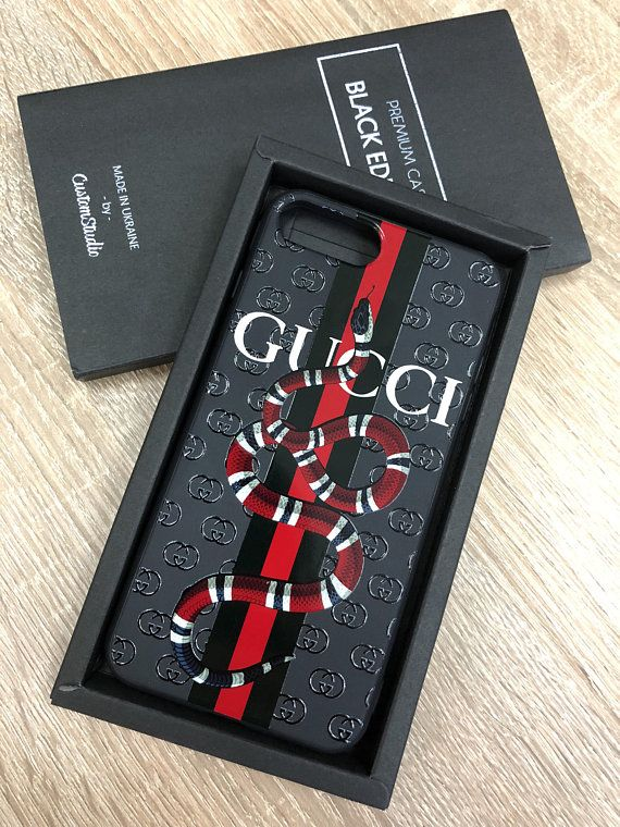 26ee6ba8d11b Gucci iPhone 8 Plus case Gucci Snake iPhone X Case Premium | Style ...