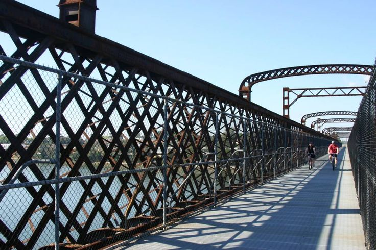 Bicycle paths in and around Ryde, NSW #Cycling #Bike #Bicycle #Active #Sport #Ryde #Meadowbank #Bridge #CityofRyde #RydeLocal