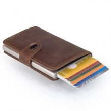 Secrid Mini Wallet vintage bruin